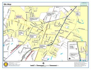 Sample Image of Moncks Corner Area Local Government Buildings Location Map
