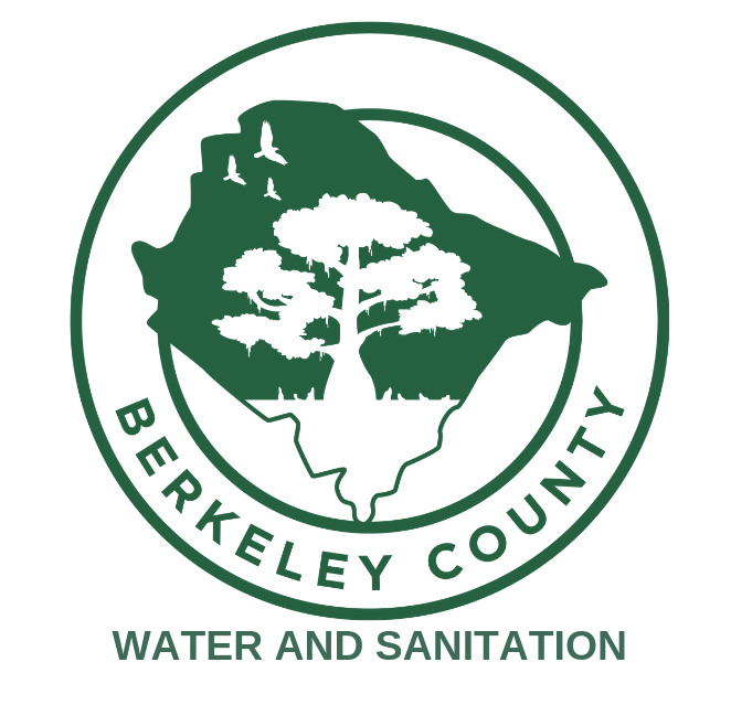 BERKELEY COUNTY WATER AND SANITATION LOGO AND HYPERLINK
