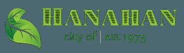 CITY OF HANAHAN LOGO AND HYPERLINK